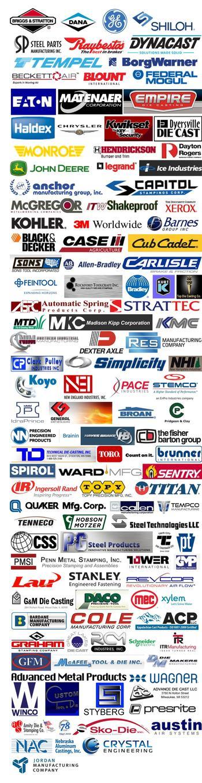 A small selection of the Bachhuber Mfg. Inc. customers